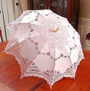 lace parasol, pink parasol, candy pink parasol